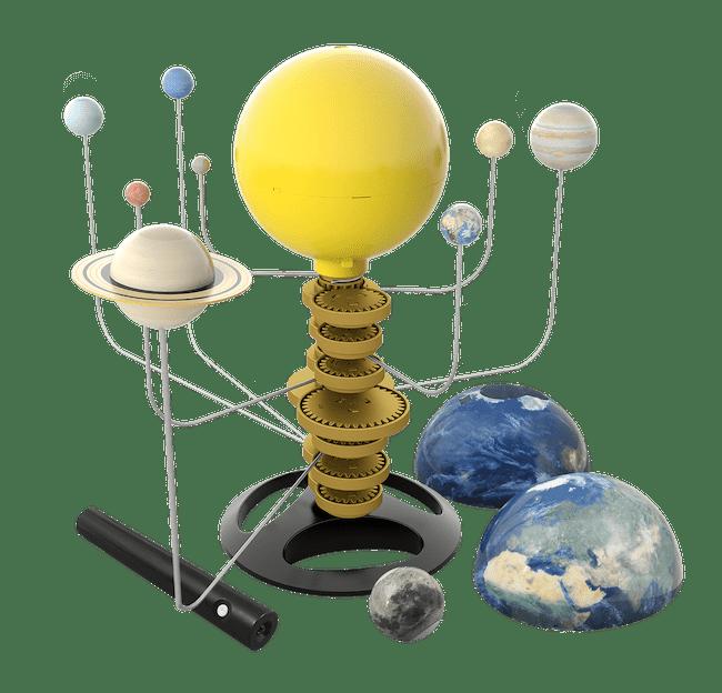 Systeme Solaire de chez Buki Noel 2020