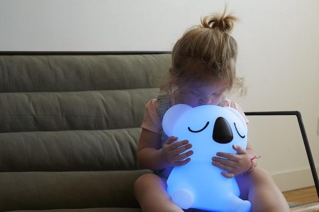 Sydney, enceinte et veilleuse Bluetooth Koala Lumin'US