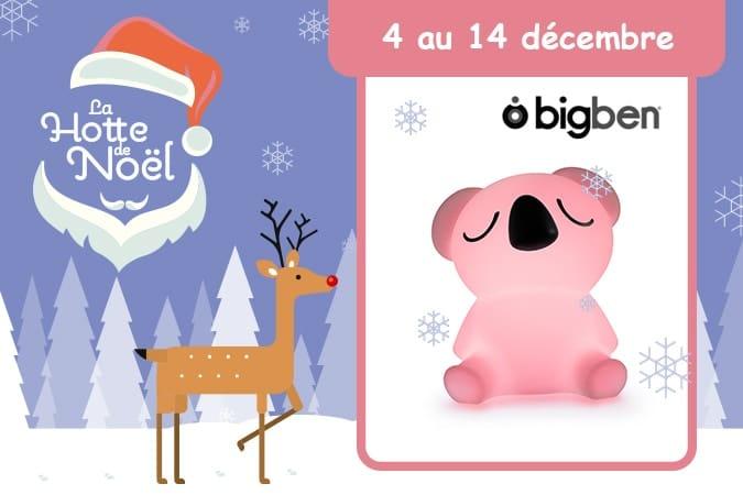 concours Lumin'Us Bigben Hotte de Noël Mafamillezen