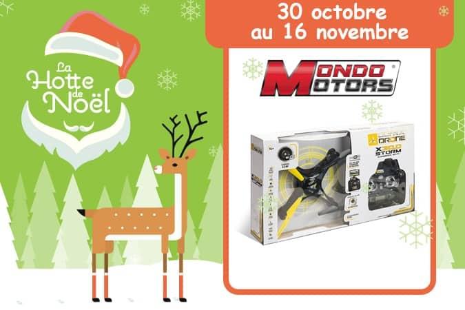 concours Ultradrone X30.0 StormMondo Motors Hotte de Noël Mafamillezen