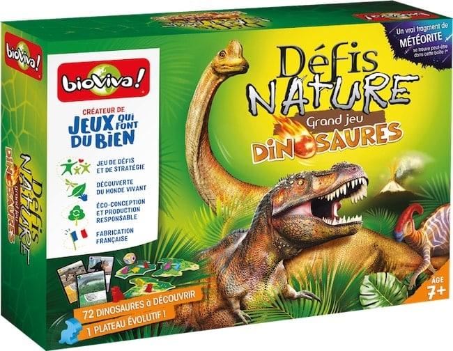 Défis Nature – Grand Jeu Dinosaures, chez Bioviva