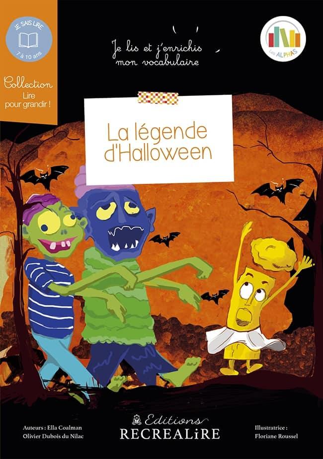 La légende d'Halloween livre enfant