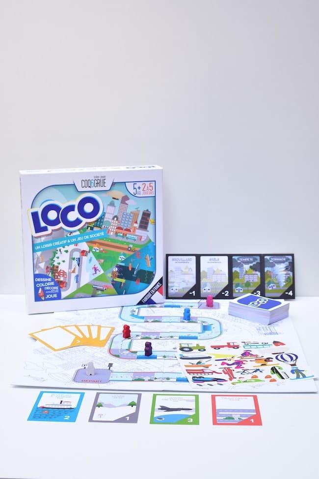 Jeu de socitété créatif Loco Coq6Grue