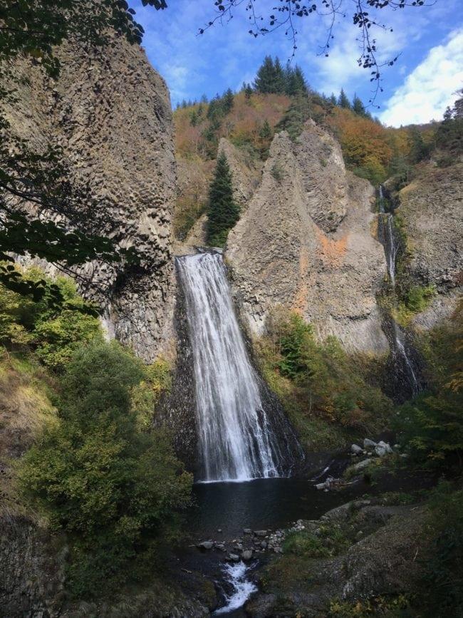 Cascade Ray Pic dans le Parc naturel régional des Monts d'Ardéche