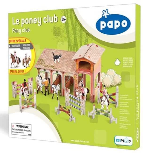 coffret Papo Poney Club Noel 2020