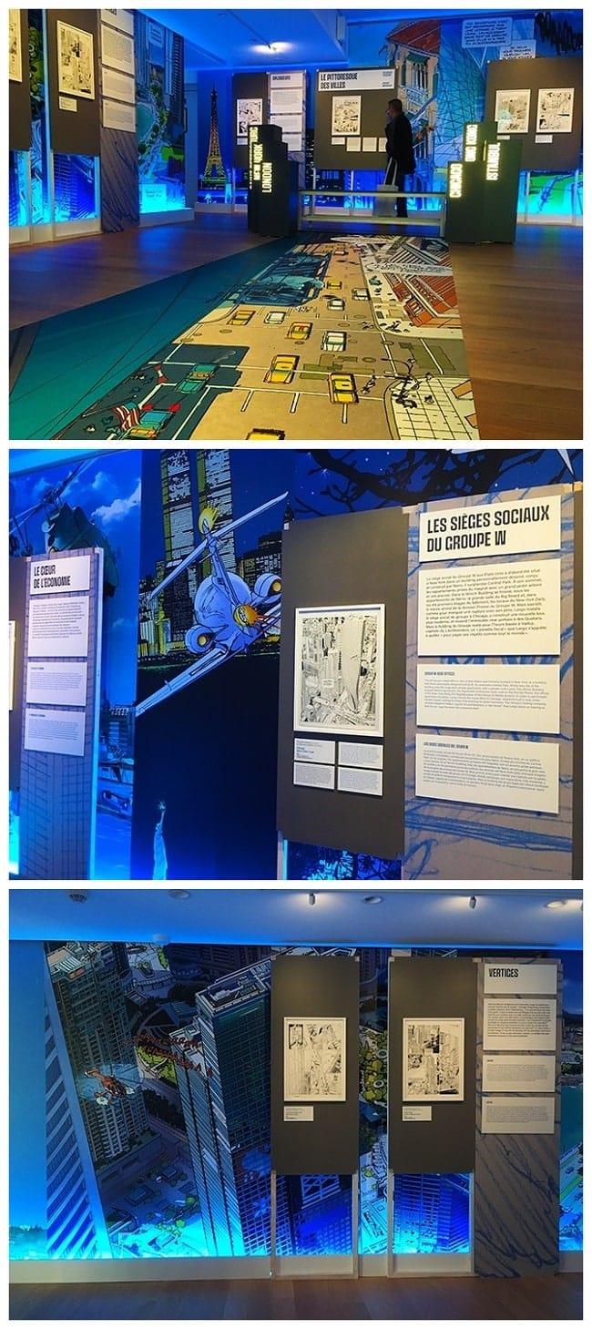 expo Largo Winch à la Cité de l'économie