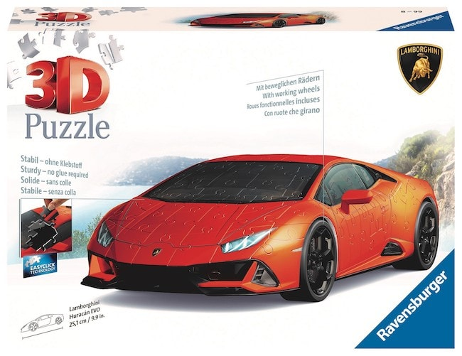 Puzzle 3D Lamborghini Ravensburger