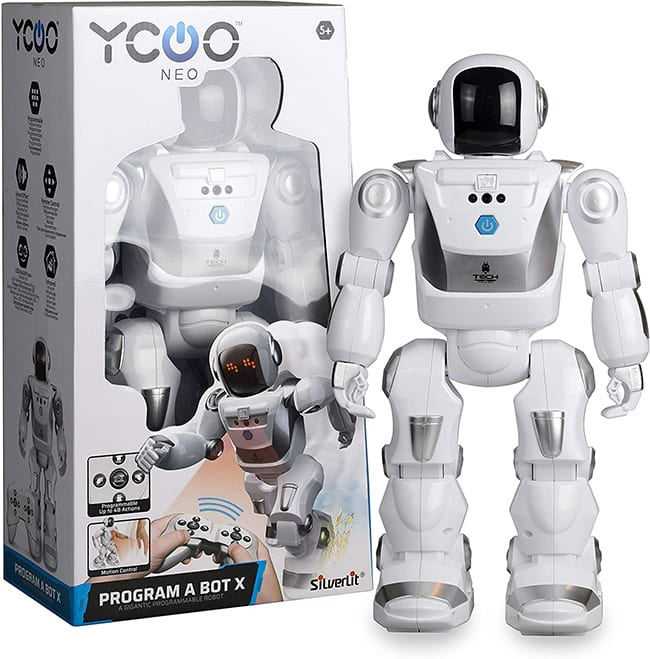 Program A BOT X, robot radiocommandé Silverlit