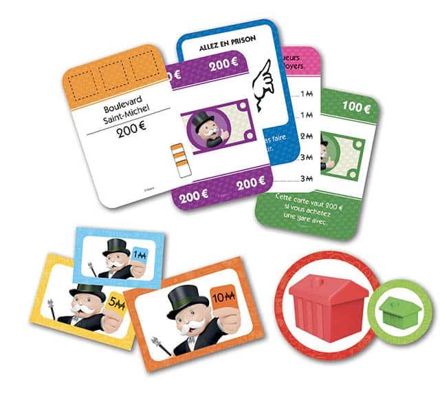 Contenu jeu Monopoly Quartier