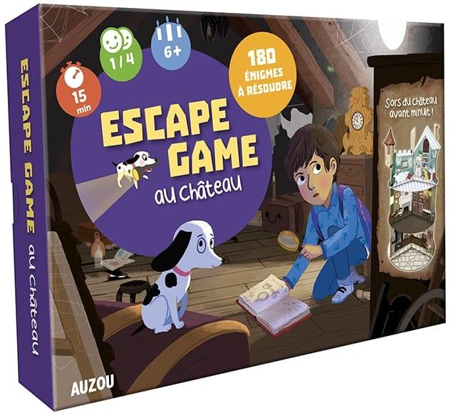 Jeu Auzou Escape Game