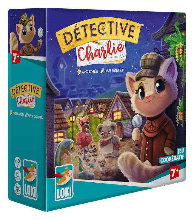 JEU DETECTIVE CHARLIE
