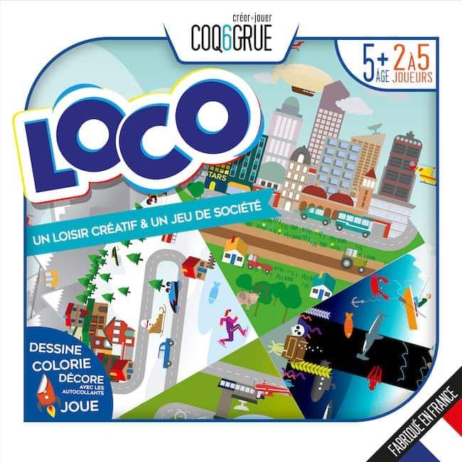 Jeu Loco Coq6Grue