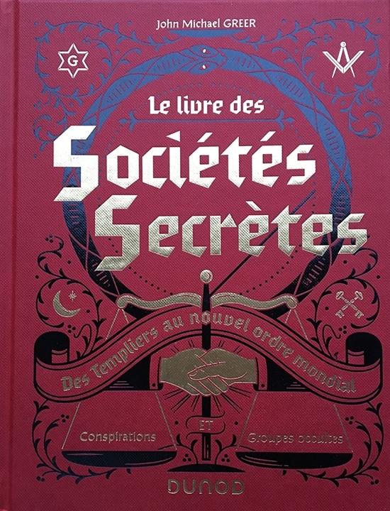 le livre des sociétés secrètes chez Dunod