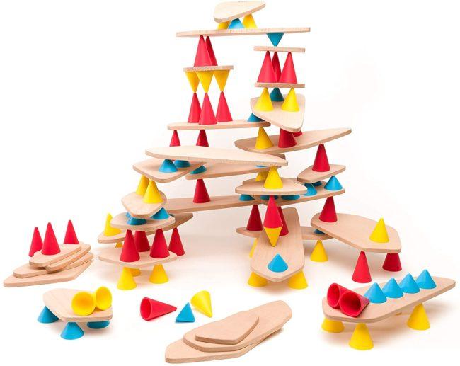 OPPI Picks jeu d'équilibre en bois