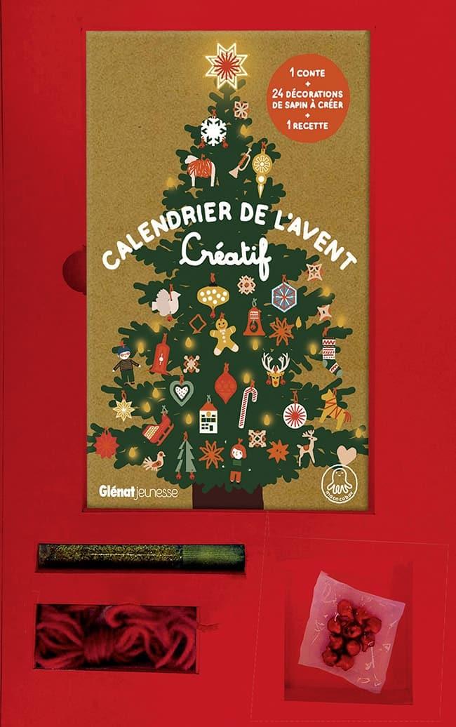 calendrier de l'Avent créatif Glénat Jeunesse