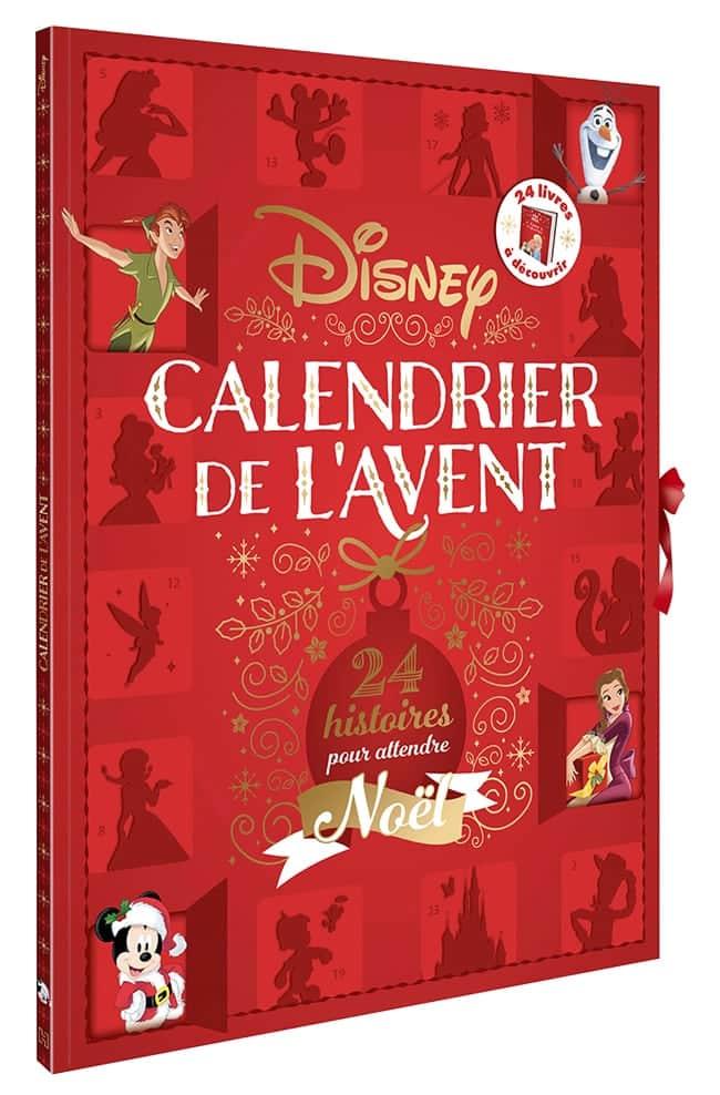 24 contes de Noël Disney calendrier Avent