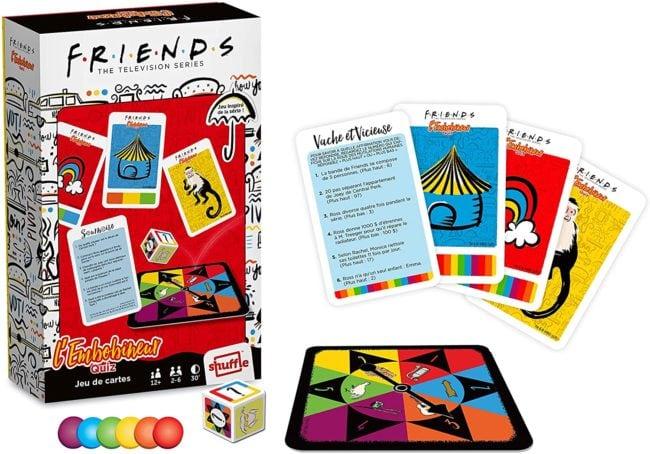 jeu de cartes quiz Friends l'embobineur Carta Mundi