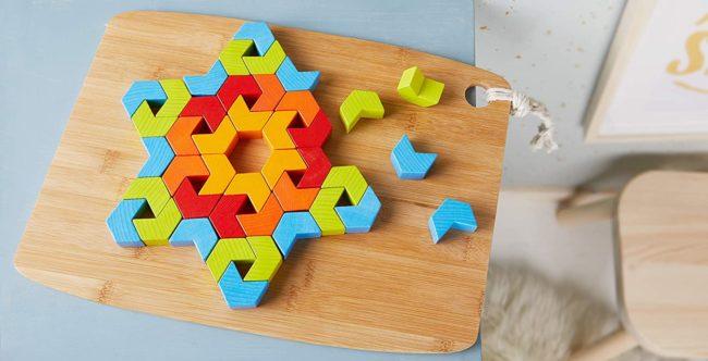 jeu kaléidoscope en bois Haba
