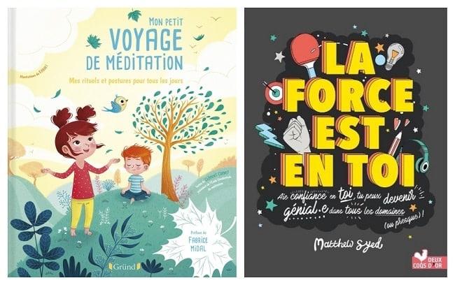 livres jeunesse pour méditer et positiver