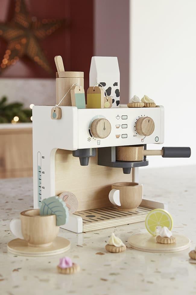 machine à café en bois Vertbaudet