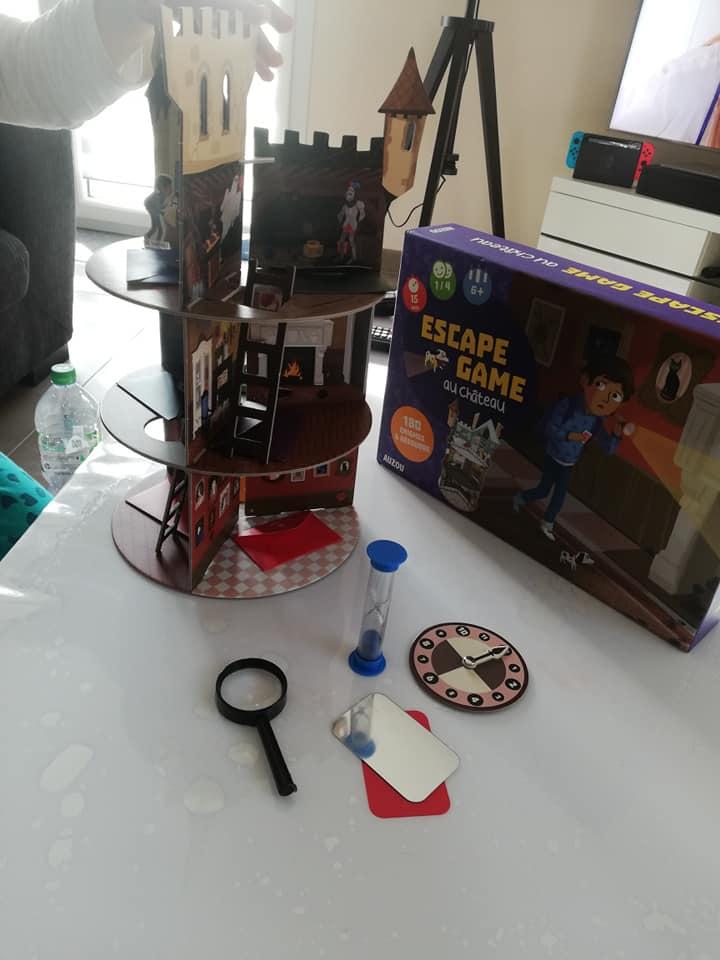 Test Auzou Escape Game