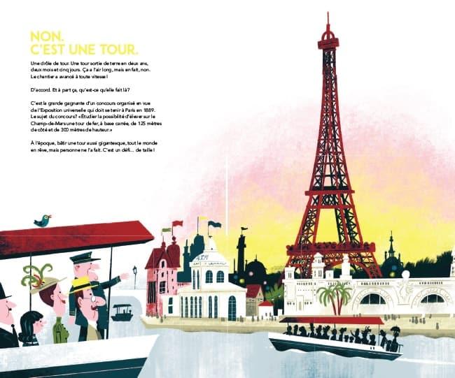 Mais à quoi sert la tour Eiffel chez Casterman