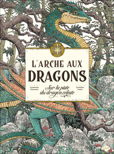 L'arche aux dragons couverture