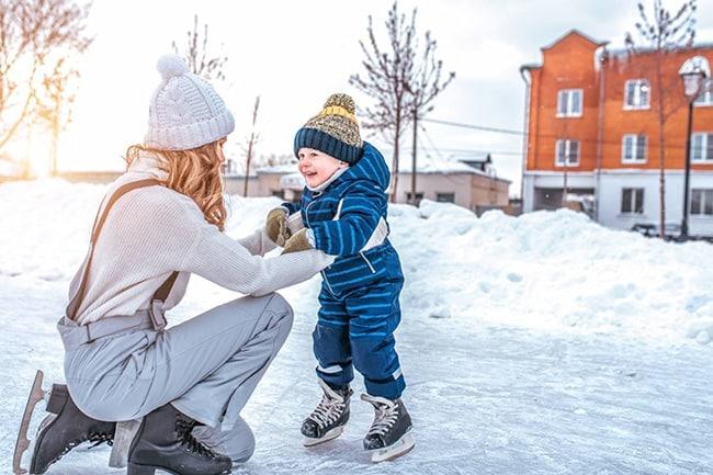 comment occuper les enfants à la neige en période de Covid 19