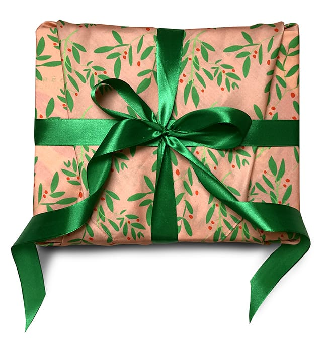 tissu emballage cadeau caredeau