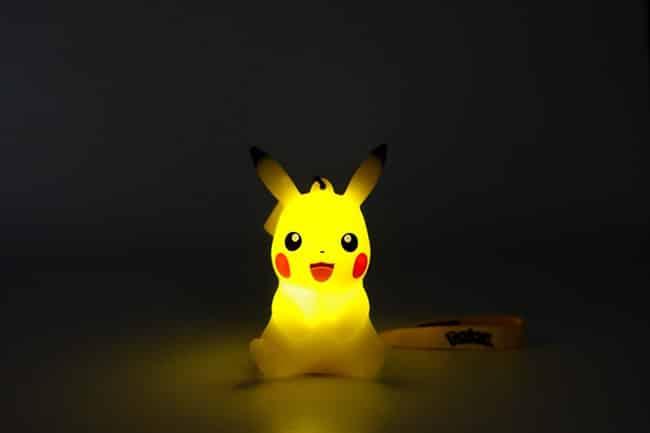 lampe de poche led Pikachu