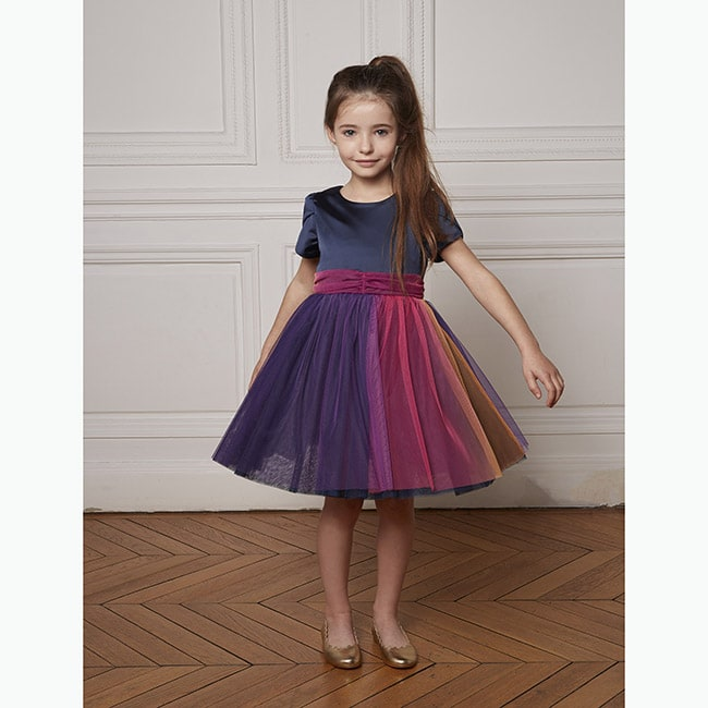robe de cérémonie fille en tulle