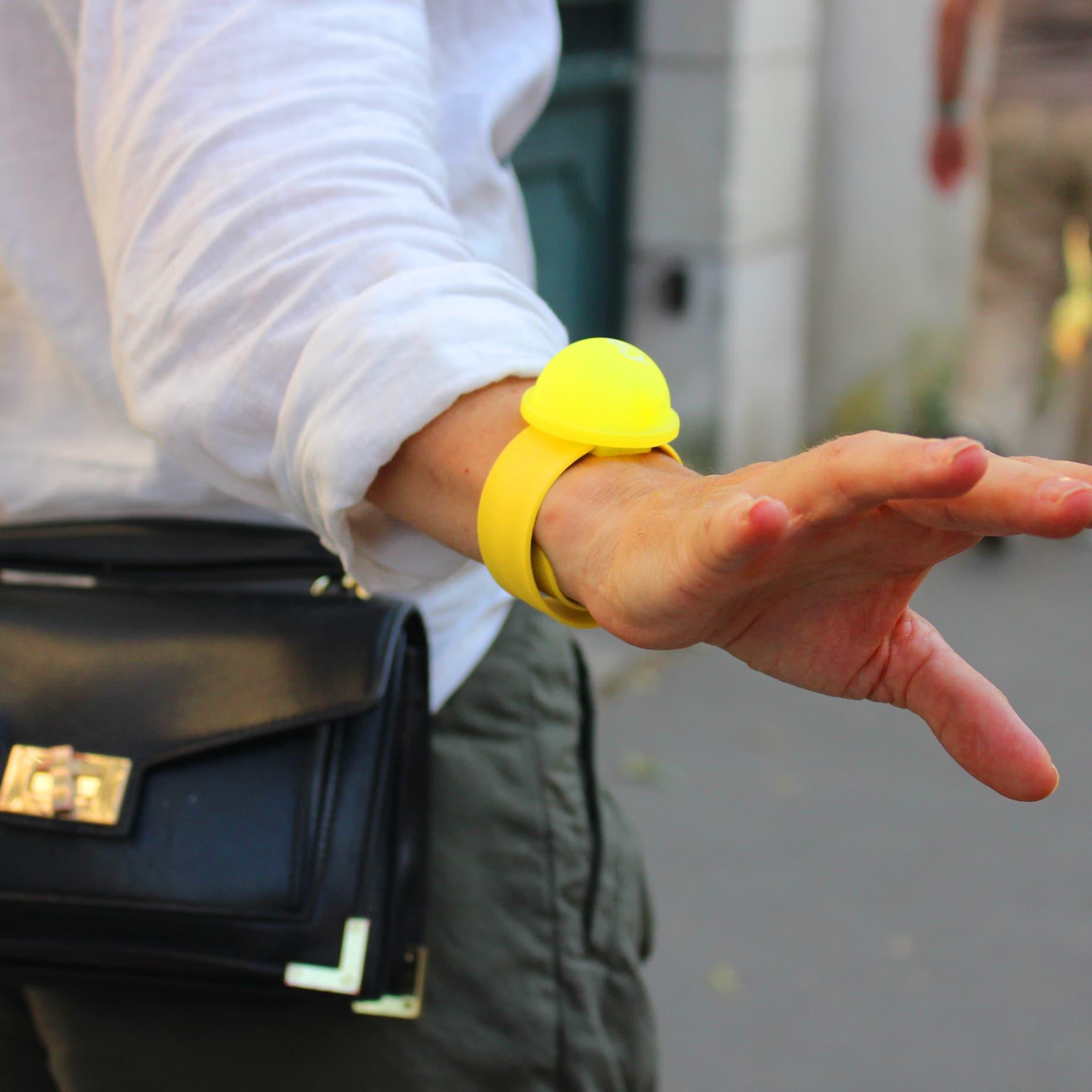 Bracelet Citron test