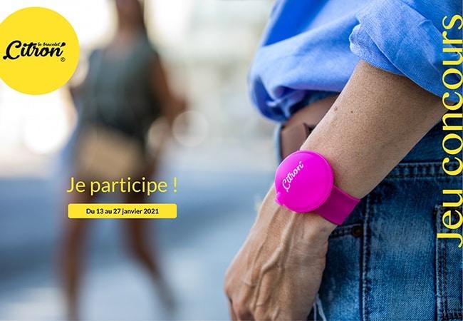concours le bracelet citron mafamillezen