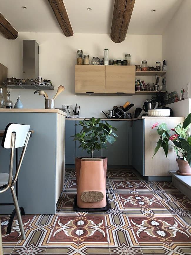 Transfarmers pot de fleurs composteur